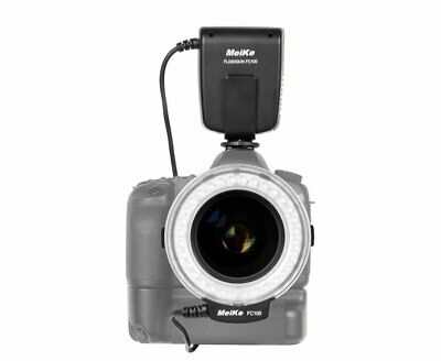 Mcoplus Macro LED Ring Flash and Video Light for Nikon Canon Sony Olympus Pentax