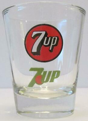 Great Very Nice Seven Up 1 1/2 oz. Shot Glass
