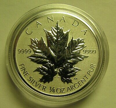 2013 Reverse Proof $3 25th Ann SML from fractional set Canada 1/4oz .9999 silver