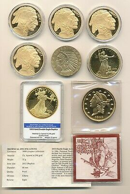 TRIBUTE TO 1849 Liberty Head Gold Double Eagle American Mint