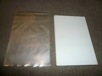 20-Bcw Silver Age Comic Bags And Boards- Protect Your Comic Books!!
