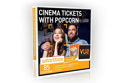 Buyagift Cinema Tickets with Popcorn Gift Experiences Box – 85 UK cinema and for