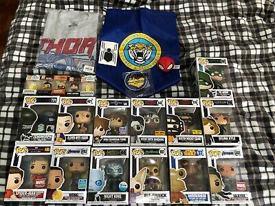 Funko Pop Exclusives and more Lot Marvel, Stranger Things, Disney, Star Wars
