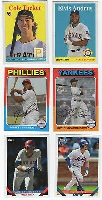 2019 Topps Archives Baseball Cards Pick From List 8-263