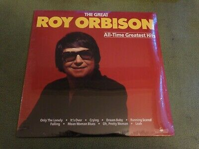 SEALED The Great Roy Orbison~1986~All Time Greatest Hits~Silver Eagle Vinyl 2-LP