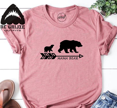 Mama Bear shirt - Family Bear Tshirt - Matching Shirts Papa Baby Bear Tshirts