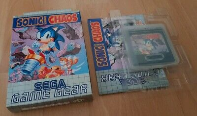 Sonic the Hedgehog Chaos - Sega Game Gear - Boxed - PAL + FREE BOX PROTECTOR