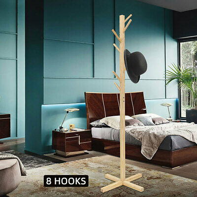 Hanger Clothes Hat Coat Stand Rack Bag Door Closet Tree Hooks Storage Holder
