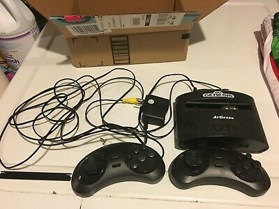Sega Genesis Classic Game Console by AT Games w/ Sonic Mortal Kombat & More