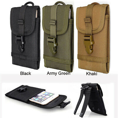 Heavy duty Cell Phone Pouch Bag Tearing resistant Double Hook Loop New Hot