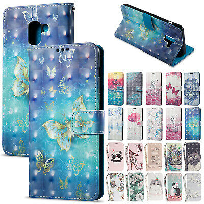 For Samsung Galaxy A30 A50 A20 A70 Case Magnetic Flip Leather Card Wallet Cover