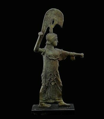 Athena Promachos Bronze Statue - Ancient Greek - Unique piece - Museum Copy