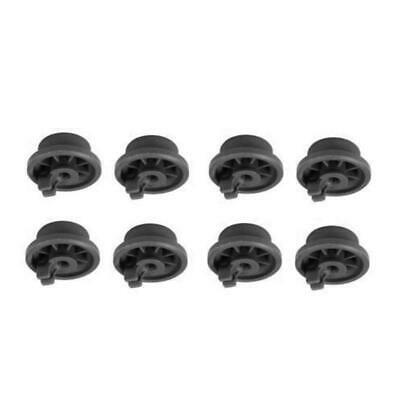8pcs Dishwasher wheels Roller Basket For Bosch Neff For Siemens 165314