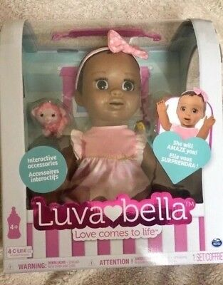 Luvabella African American Doll Brand New in Box IN HAND!