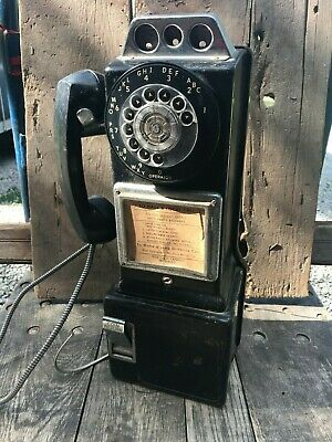 Vintage Automatic Electric Payphone