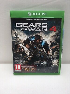 Gears Of War 4 GoW 3 GoW 2 GoW 1 GoW Judgement Xbox One Very Good Condition