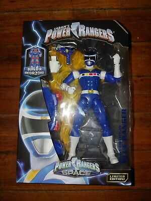 Power Rangers Zeo ~ BLUE RANGER LEGACY ACTION FIGURE ~ Damaged Box ~ Bandai