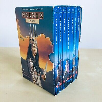 The Complete Chronicles of Narnia - C S Lewis - Box Set 1-7 Books