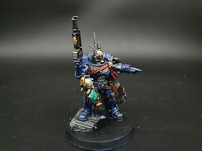 Warhammer Primaris Captain in Phobos Armour pro painted made to order