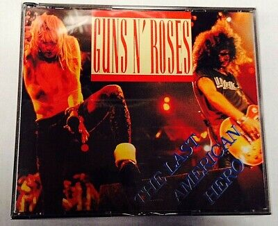 GUNS N' ROSES - THE LAST AMERICAN HERO - 3 CD LIVE USA  NO CDr RARO SEALED MINT