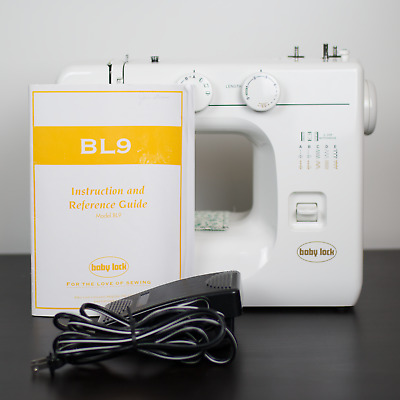 Brother Embroidery Quilting Sewing Machine Baby Lock BL9 With Case