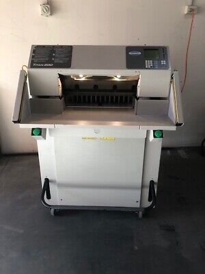 Challenge Titan 200 Fully programmable Fully hydraulic Paper Guillotine
