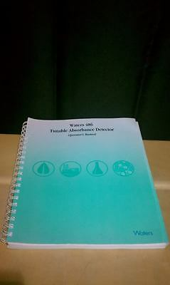 WATERS 486 Tunable Absorbance Detector Operators Manual