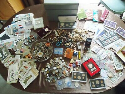 Desirable Estate, Us/World Coins,Notes Jewelry,Medals,Marbles, Stamps, Postcards