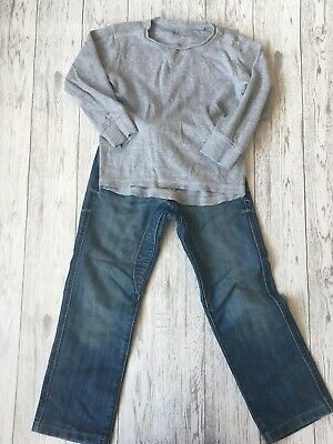Boys Mixed Brands Top And Jeans Outfit Age 5-6 Years
