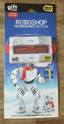 Robocop Limited Edition Programmable Message LED Best Buy Gift Card $0.00 PROMO