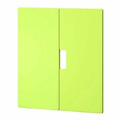 IKEA STUVA MALAD Green Door Front 60x64 Pair with Hinges: 301.691.01