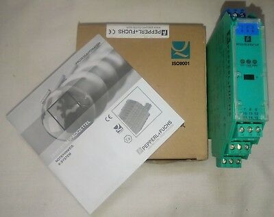 Pepperl+Fuchs KFD2-SL2-Ex1.LK Solenoid Driver 1-channel Isolated Barrier 200542