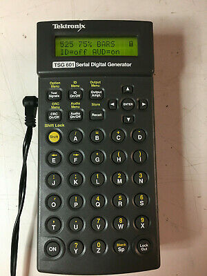 Tektronix Tsg601 Serial Digital Video Signal Generator