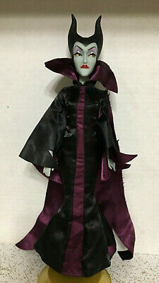 Disney Store Classic Sleeping Beauty Maleficent Barbie Doll Jointed Articulated