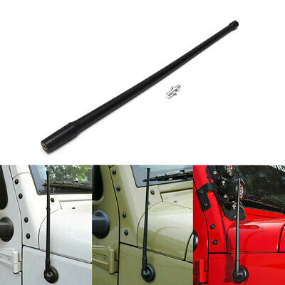 "13""AM FM Radio Antenna Signal Receiving for 2007-2018 Jeep Wrangle3C"