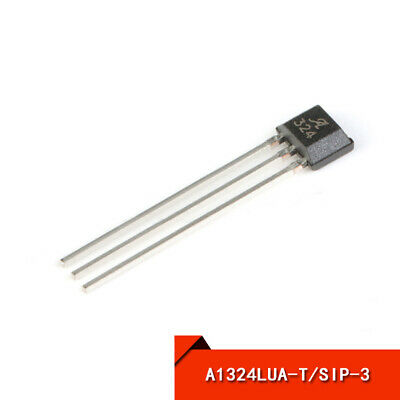Low Noise Linear Hall Effect Sensor IC with Analog Output A1324LUA-T SIP-3
