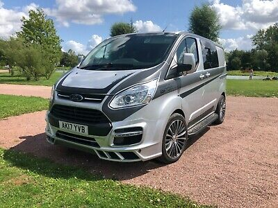 Ford transit custom Limited SWB M-sport kit 6 seat double cab a/c 190bhp NO VAT