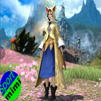 FINAL FANTASY XIV FFXIV Character Krile's Attire FF14 Item Code Mogstation