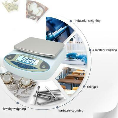5kg 0.01g Scale Accuracy Digital Electronic Balance Lab Jewelry Kitchen Weigh