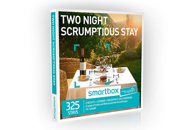 Buyagift Two Night Scrumptious Stay Gift Experiences - 325 two night breaks with