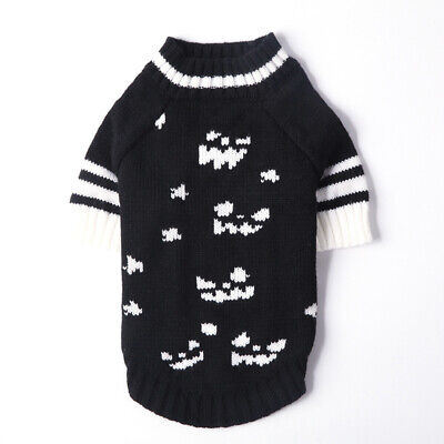 Dog Cat Knitted Jumper Knitwear Chihuahua Clothes Warm Pet Puppy Sweater XS~XL .