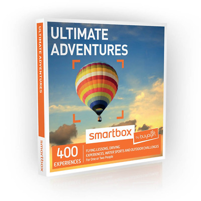 Buyagift Ultimate Adventures Gift Experiences Box - 400 experience days to give