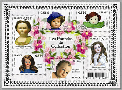 FRANCE 2009 - LES POUPEES DE COLLECTION  Neuf  Y&T 4394