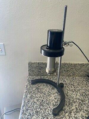 Brookfield Model LVT Cone Spindle Viscometer with Stand