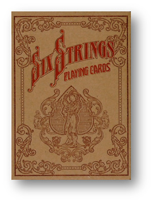 Limited Edition Six Strings Playing Cards Poker Playing Cards Cardistry