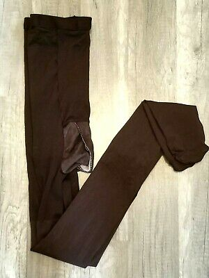 SPANX REGULAR WAIST TIGHTS BLACK sz A XS NWOT OPAQUE