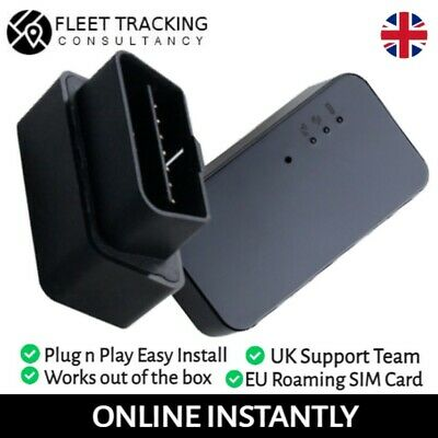 OBD GPS Tracker  + Tracking Package -  Vehicle Car Mini OBD Tracker + SIM Card