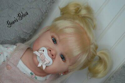 READY TO SHIP! Reborn Baby Girl Toddler Doll Adele by Ping Lau NEW RELEASE!