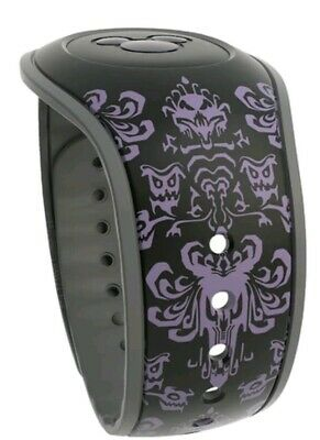 Disney Parks Haunted Mansion Attraction Wallpaper MagicBand 2 Magic Band 2 NEW