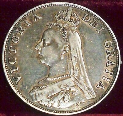 1890 UK , Great Britain Double Florin KM# 76